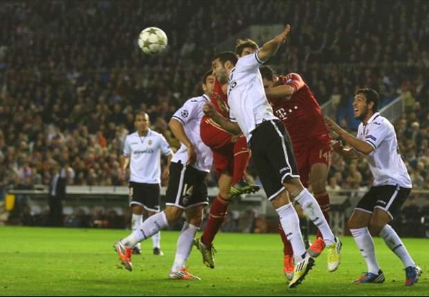 Valencia rozó la hazaña ante el Bayern Múnich