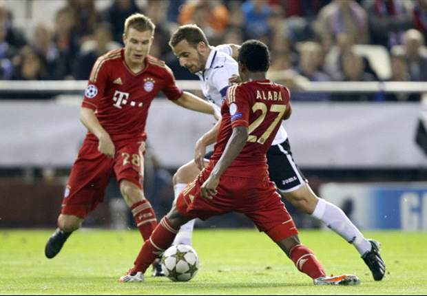 Valencia 1-1 Bayern Munich: Muller's late leveller sees Bavarians through