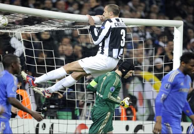 ITA, Juventus - Chiellini forfait à Milan