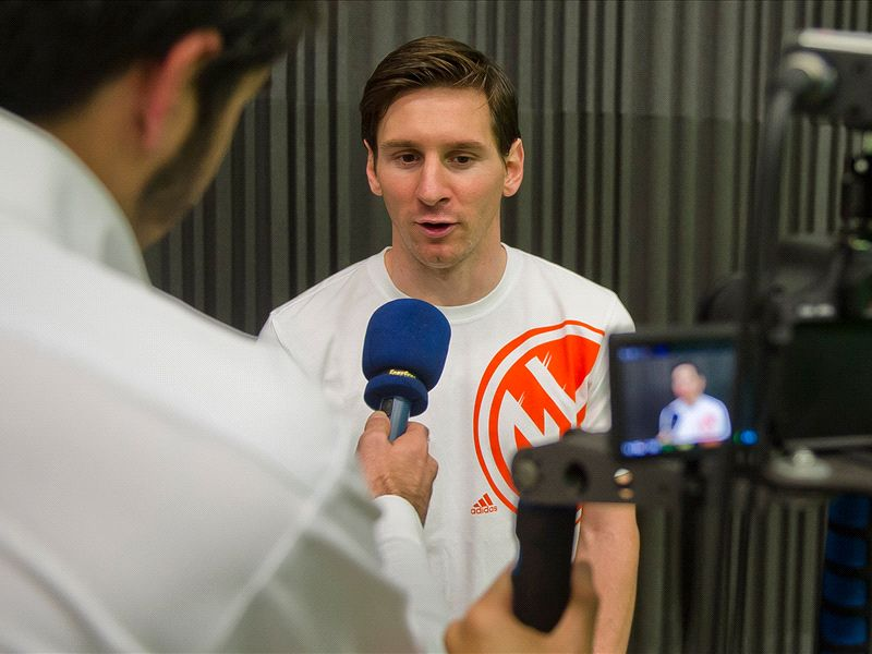 The whole year has been a highlight, says Messi after winning Goal 50