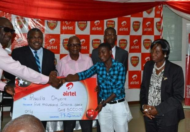 Airtel rewards Airtel Rising Stars winners and honours Black Maidens captain