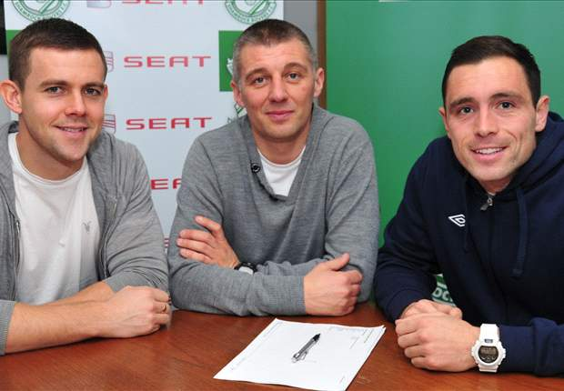 Shane Robinson signs for Shamrock Rovers
