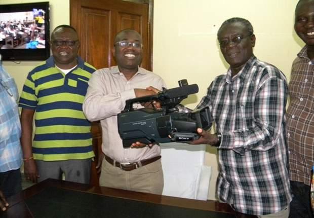 Ghana FA presents video cameras, communication gadgets to Premier League Board
