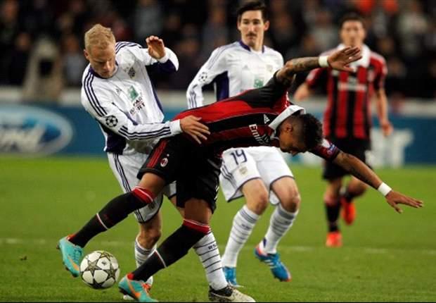 Anderlecht-Milan 1-3: Tripudio rossonero, il Diavolo si prende gli ottavi di Champions