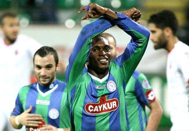 Uche Kalu set for more goals for his Turkish club