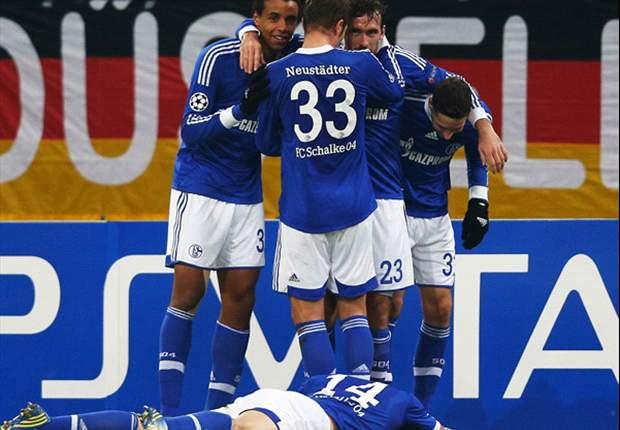Schalke 04 clasificó a octavos de la UEFA Champions League