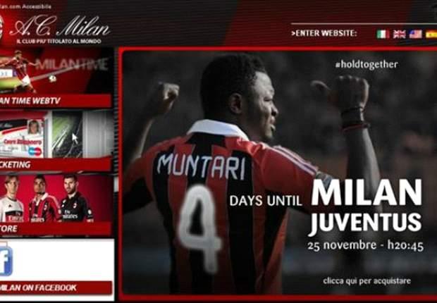 Domenica c'è Milan-Juve, nel countdown rossonero si rivede Muntari: furono lui ed il suo goal annullato i grandi protagonista dell'ultima sfida di campionato