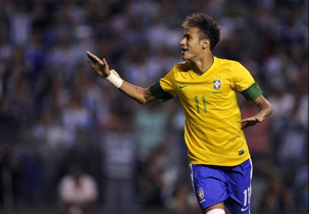 Scolari: Neymar not too young to be Brazil's star player