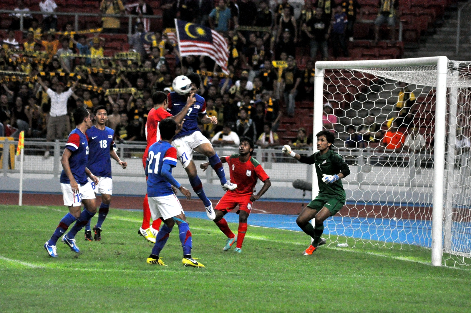 At the Gallery: Malaysia 1-1 Bangladesh