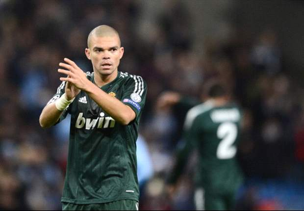 Pepe: Dressing room is on a bit of a downer