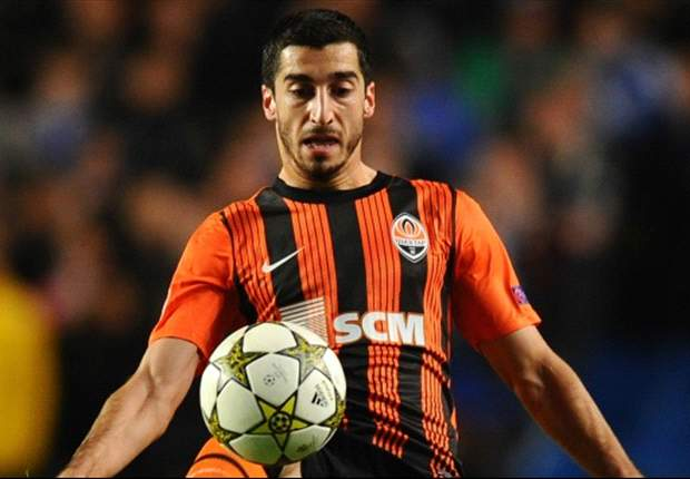 Liverpool have not bid for Mkhitaryan, claims Shakhtar chief