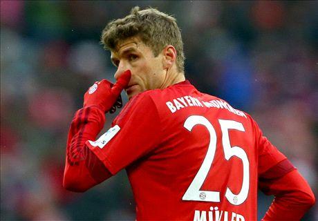 Muller on target as Bayern beat Hertha
