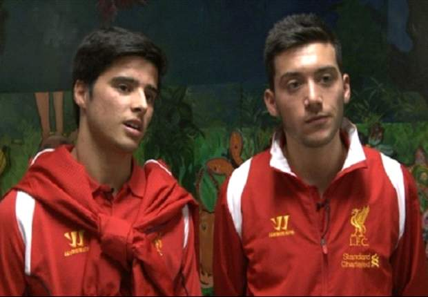 Teixeira & Nacho setting sights on Liverpool first team