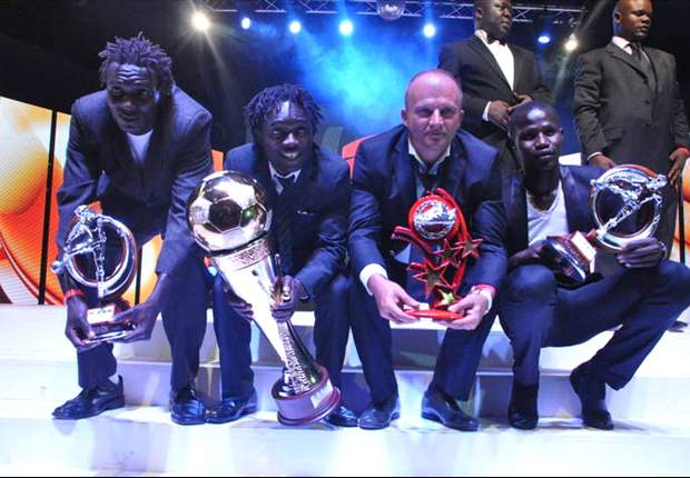 Gor Mahia coach Logarusic, Sserunkuma scoops Coach and Player of the Year Awards