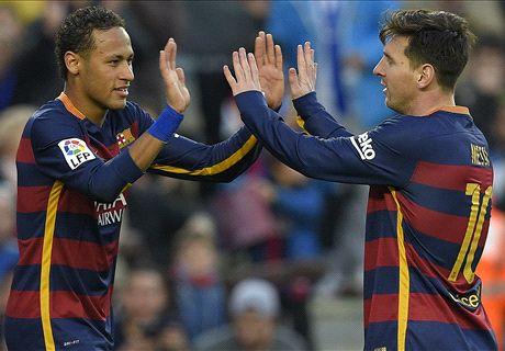 Le Barça continue de dérouler en Liga