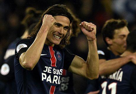 Cavani & Ibra on target for PSG