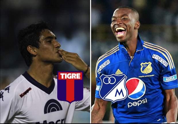 Tigre y Millonarios quieren llegar a la final