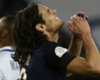 'Cavani was not very happy'