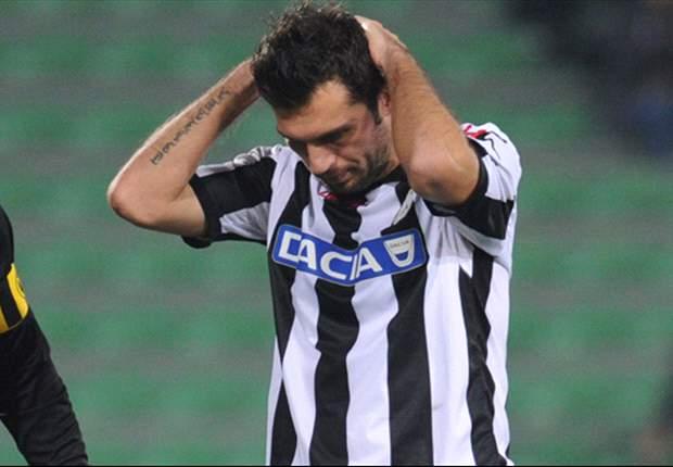 """Il Napoli non ha preso benissimo il pari con l'Udinese, Domizzi però non ha dubbi: """"E' un risulato giusto"""""""