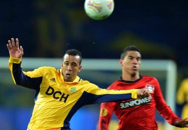 Metalist 2 x 0 Leverkusen: brasileiros brilham e equipe russa fica na liderança do grupo