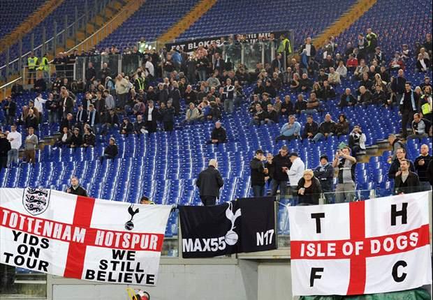Uefa abre processo disciplinar contra Tottenham e Lazio por racismo