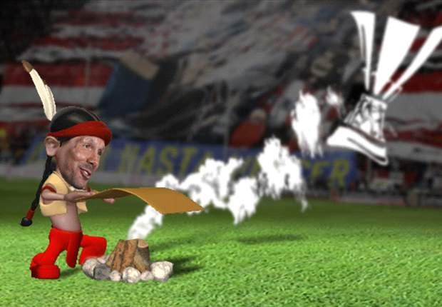 Diego Simeone hace señales de humo para confirmar que la Europa League está más cerca