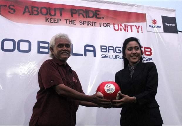 Sambut Piala AFF, Suzuki Donasikan 1000 Bola