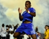 Didier Drogba warms up for Montreal Impact