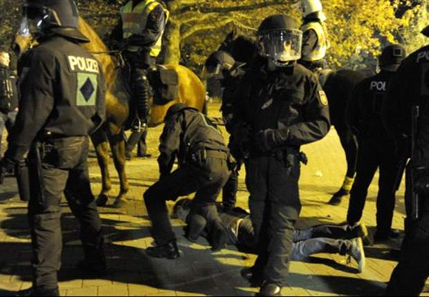 Kaiserslautern: Schwere Ausschreitungen durch Dresdner Anhänger