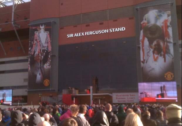 Word on the Tweet: Sir Alex Ferguson praised as statue is unveiled outside Old Trafford