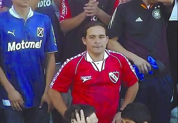 Detuvieron al hincha de Independiente que arrojó las bombas de estruendo