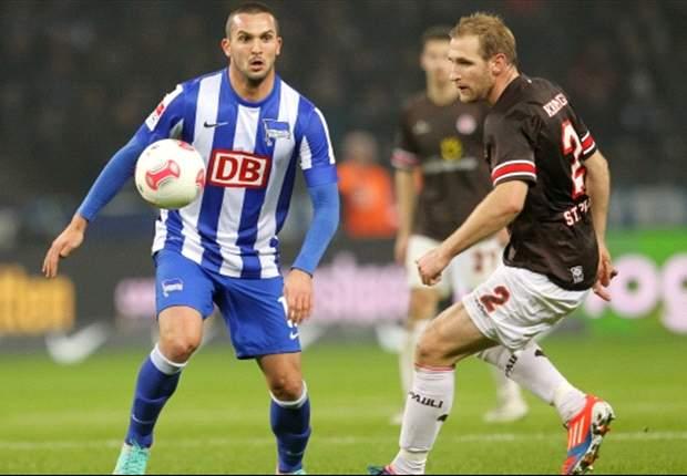 In der letzten Saison noch regelmäßig im Einsatz: Ben Sahar von Hertha BSC