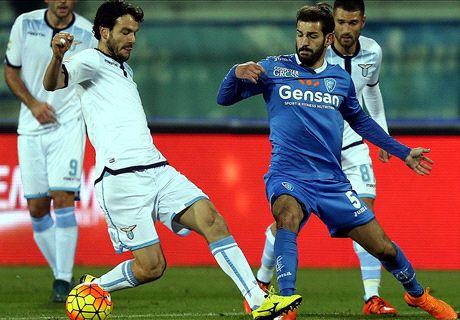 Empoli-Lazio LIVE! 1-0, Tonelli