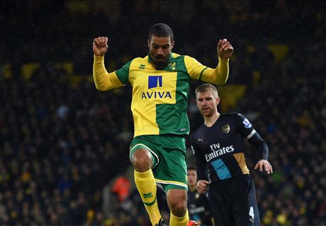 Arsenal limp to draw at Norwich
