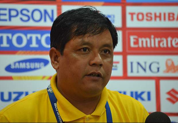 Tin Myint Aung refused to comment on the referee's red-card decision.