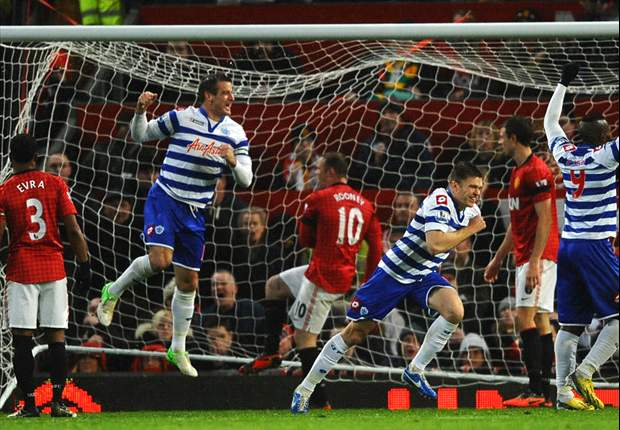 Manchester Utd-QPR 3-1: Mackie spaventa i Red Devils, poi gli Hoops crollano alla distanza
