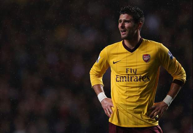 Wenger reveals Giroud is ruled out for Arsenal against Bradford