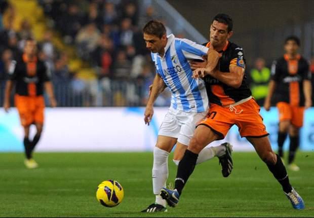 Malaga fegt Valencia mit 4:0 vom Platz