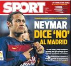 BACK PAGES: Neymar says no to Madrid