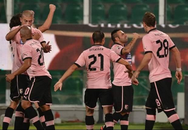 El Palermo se impuso en el derbi siciliano al Catania