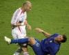 """Materazzi: """"Hablé a Zidane de su hermana, no de su madre"""""""