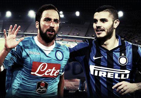 Pipita vs Maurito: a voi Napoli-Inter