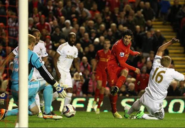 El Swansea y el Liverpool no se sacaron ventaja