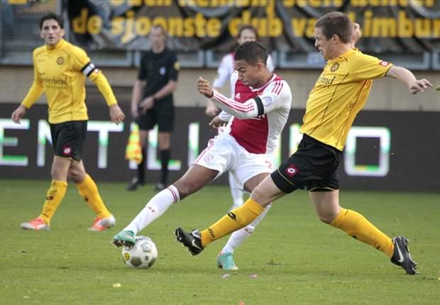 Sterker Ajax ontsnapt laat bij Roda