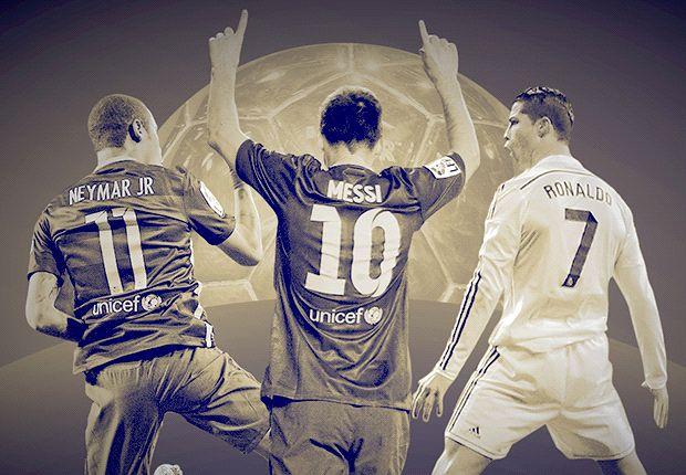 Messi, Neymar & Ronaldo make Ballon d'Or shortlist