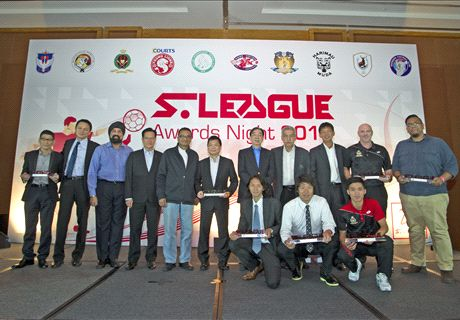 S.League Awards Night 2015
