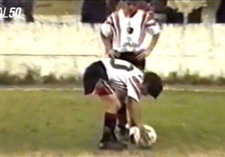 Messi inédito: ¡golazo a los 12 años!