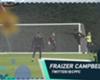 Goal en las redes: Fraizer Campbell desafía a la gravedad