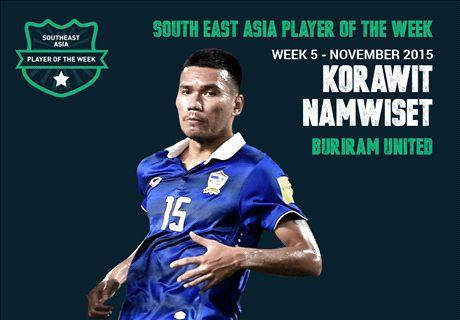 Goal SEA POTW: Korawit Namwiset