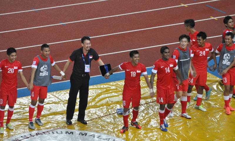 Singapore's road to the AFF Suzuki Cup 2012 final